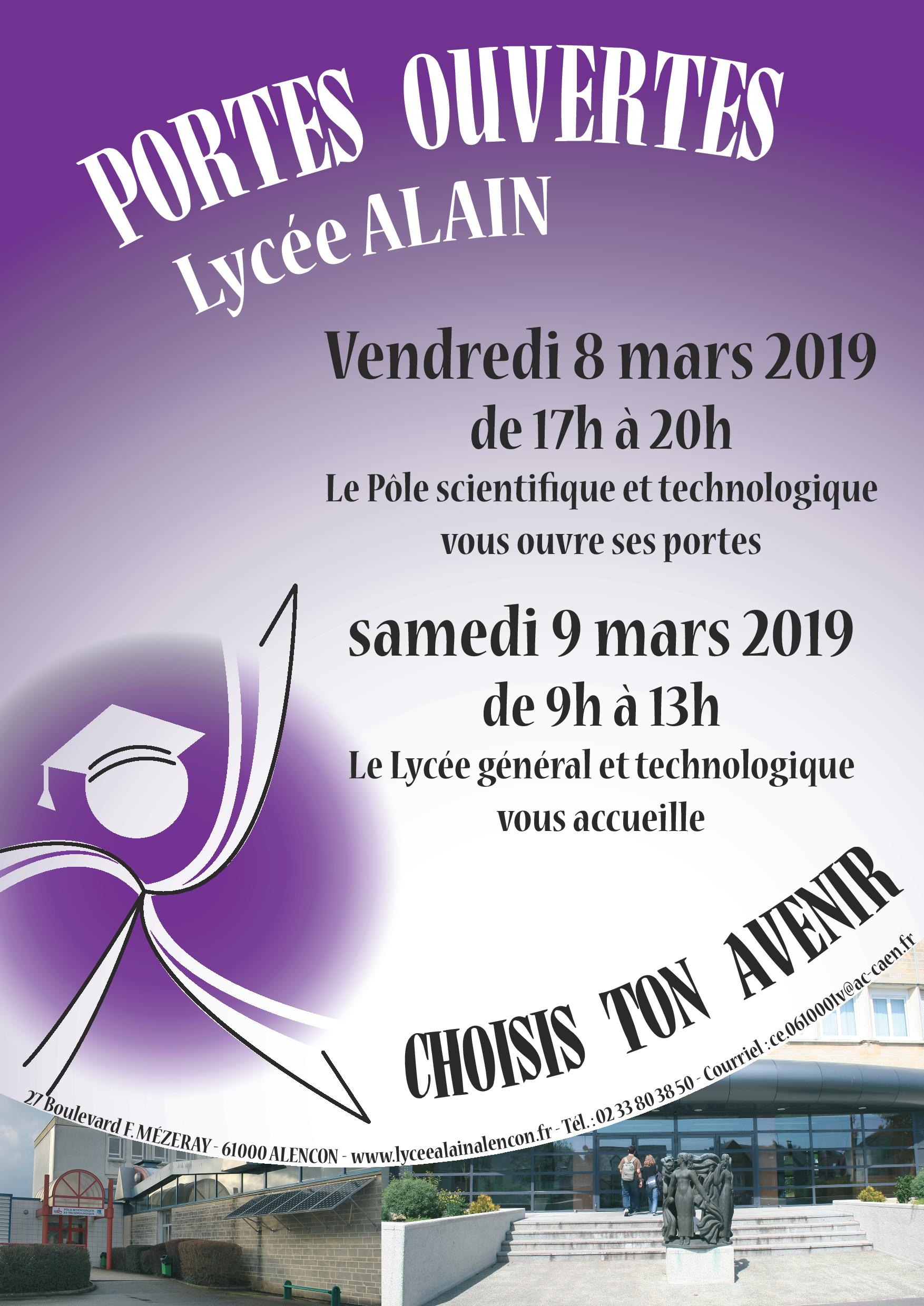 affichePO2019 lyce ALAIN page 001